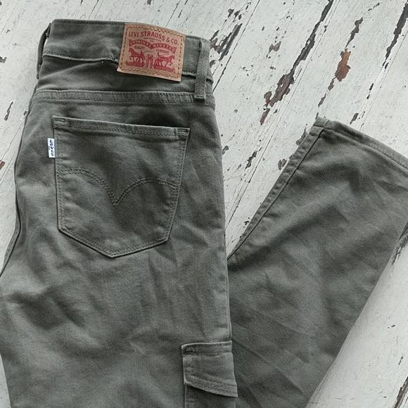 Levi's Denim - Olive Green Levi Jeans